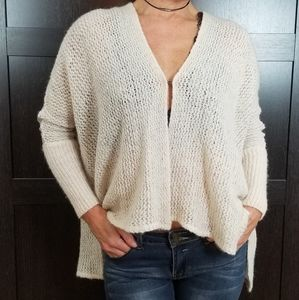 🌷 Free People Unique Wool Cardigan Shrug Sweater